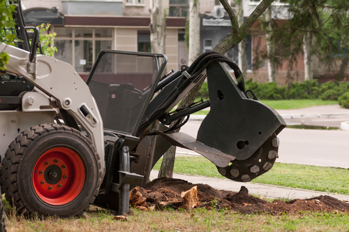 tree stump grinding equipment